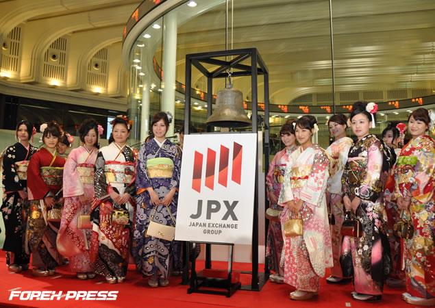 2011年度日本取引所グループ大発会