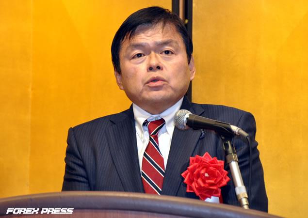 経済産業副大臣  赤羽 一嘉(あかば かずよし)氏による祝辞