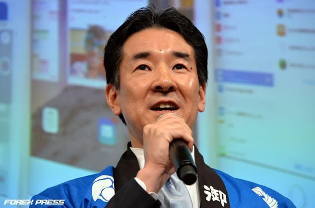 岡三オンライン証券 取締役社長 大杉茂氏からの御礼のご挨拶