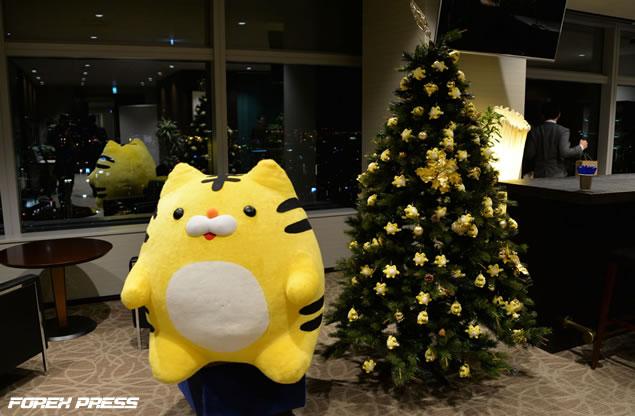 トラリピくんクリスマスツリー