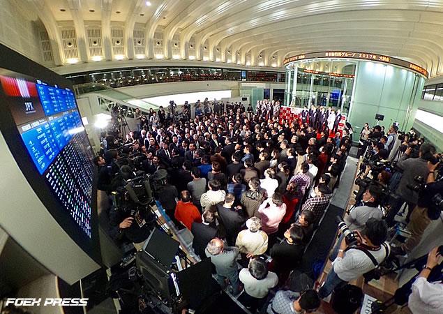 日本取引所グループ・2017年大納会